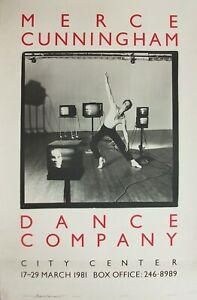 Merce Cunningham Dance Company – New York Poster – 1981