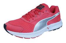Scarpe sportive da donna lacci rosa di gomma