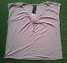 George Polyester Plus Size Basic T-Shirts for Women