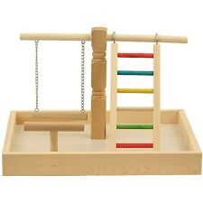 Parrot Playground  Gym Play Stand For Parrots Meyers Cockatiels Conures