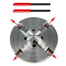 Self Centering Lathe Chuck 4 Jaw 6 Inch For Cnc Milling Hardened Steel