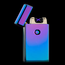 Rechargeable Double Electrical Spark Cigarette Lighter Electric Electronic Tesla