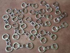 1000 Handcuffs Charm Handcuff Pendants Linked Jewelry Emo Punk Police 50 Shades