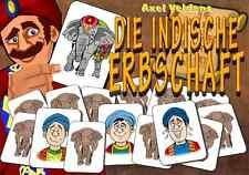 Die Indische Erbschaft - Eine Selbstgänger - Rätselgeschichte (00164)