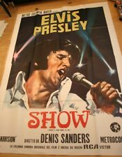"Elvis Presley Original Italy ""TTWII"" 2-Sheet  78 x 108 inches 1970"