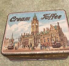 Vintage RG Cream Toffee Tin Manchester