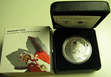 2007 Proof $25 2010 Vancouver Olympics #1-Curling .925 silver Canada
