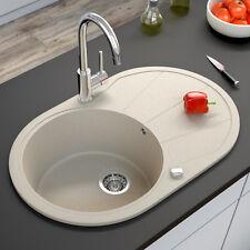 BERGSTROEM granito fregadero cocina desagüe lavadero 780x500 beige