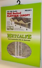 Metcalfe PO341 - Wall Backed Platform Canopy, Laser Cut Card Kit (00)