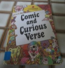 """Vintage Ladybird """"Comic and Curious Verse"""". 1st Ed,1983"""