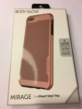 Body Glove Mirage Series,Case For Apple iPhone 8+/7+/6S+/6+,Rose Gold & Charcoal