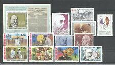 Nobelpreis, Tuberkulose, Wilhelm Koch - LOT ** MNH