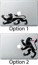 Lion Sticker Apple Mac Book Air/Pro Dell Laptop Decal Vintage antique Heraldry
