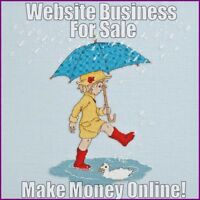 CROSS-STITCH Website Business For Sale - Free Domain + Hosting - Work From Home