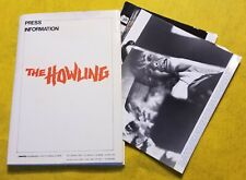 THE HOWLING original 1981 press kit 8 photos DEE WALLACE horror JOE DANTE