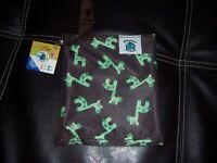 PLanet Wise lite wet bag mini green giraffe