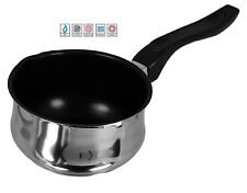 14cm NON STICK MILK PAN SACEPAN POT BAKELITE HANDLE FOR ALL HOBS & INDUCTION 432