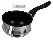 14cm NON STICK MILK PAN SAUCEPAN POT BAKELITE HANDLE FOR ALL HOBS INDUCTION 432