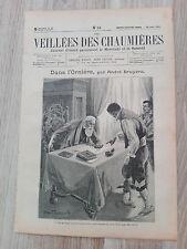 Journal illustré 1909  - Veillées des Chaumières - 28 Août - Dans l'Ornière...