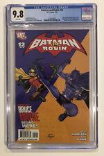 Batman and Robin #12 CGC 9.8 Grant Morrison FRANK QUITELY 2010