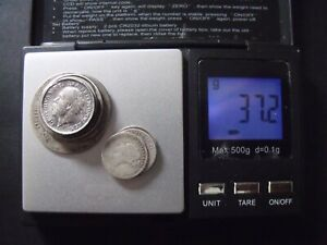 PRE 1920 BRITISH SILVER COINS. Approx 37g Scrap Silver Coins. (sold as seen). 3