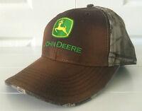 John Deere Brown Stretchband Cap #LP67028
