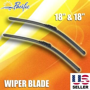 "Windshield Wiper Blades CHEVY CHEVROLET J-HOOK OEM QUALITY 18"" INCH Bracketless"