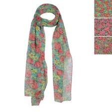 Bufandas y pañuelos de mujer de color principal rosa de poliéster