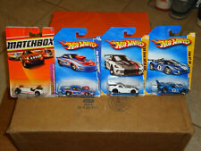 4 Die Cast Cars Viper Ford GT Pro Stock in Plastic on Cards