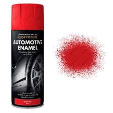 2x Rust-Oleum Auto Automotive Esmalte coche pintura en aerosol rojo brillante
