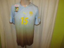 "Kamerun,Cameroon ""FECA FOOT"" Nr.964 Puma Matchworn Trikot 2012/13 + Nr.15 Gr.XL"