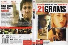 21 Grams (DVD), Region-4, Like new, free shipping
