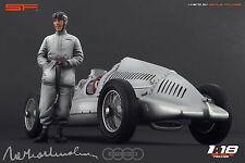 1/18 Tazio Nuvolari figure VERY RARE !!! for 1:18 Autoart Exoto CMC Mercedes