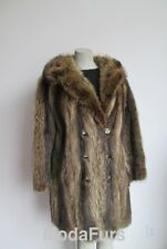 Women's Sz 8 VG+ Raccoon Fur Coat Jacket Sale