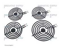"MP31YA Electric Range Burner Element Unit Set of 3- MP15YA 6"" & 1- MP21YA 8"""