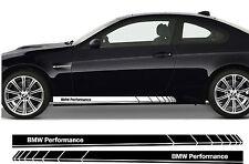 BMW Performance Prämie Seite Streifen Aufkleber Serie 1 3 5 M3 M5 Z3 Z4 01