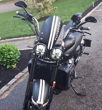 "TWO 5.75"" Black Triumph Speed/Street Triple, T509, 955, Rocket 3, LED headlights"