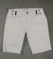 Five Four Mens Shorts 42 Modern White Classic Club Fashion Polo Full Rise Work