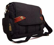 Mens Boys Womens College School Work Messenger Satchel Cross Body Shoulder Bag