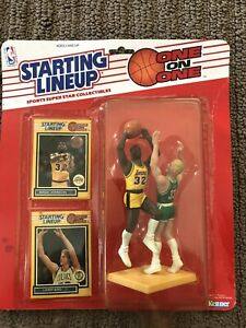 Magic Johnson Larry Bird One on One NBA Starting Lineup Figure - UNOPENED - 1989