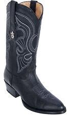 Men's Los Altos Genuine Bull Shoulder Round Toe Western Cowboy Boots Handmade