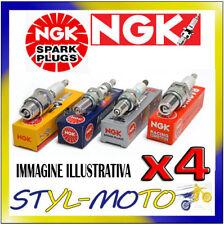 KIT 4 CANDELE NGK DCPR8E LANCIA Y 16V LE LS LX Elefantino Rosso 1.2 63KW  2000