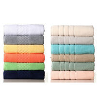 Super Soft and highly absorbent premium 100% cotton 6pc Towels set