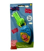 PEPPA PIG CAR KEYS Electronic Sounds Toy Childrens Party Stocking Filler