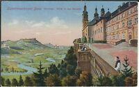 Ansichtskarte Cistercienserkloster Banz - Terrasse - Blick in das Maintal 1920er