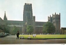 DURHAM CATHEDRAL PALACE GREEN ENGLAND