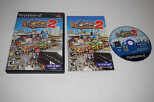 Metropolismania 2 Sony Playstation 2 PS2 Video Game Complete