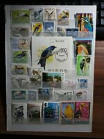 Vögel Vogel Birds Animals Stamps Sellos Briefmarken Timbres