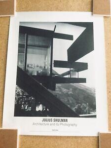 Julius Shulman Limited Edition Architecture Lithograph Seidenbaum Residence