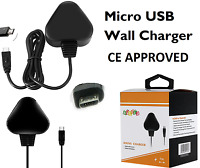 UK Micro USB Mains Power Wall Supply Charger 5V 1A For Raspberry Pi 3 Model B